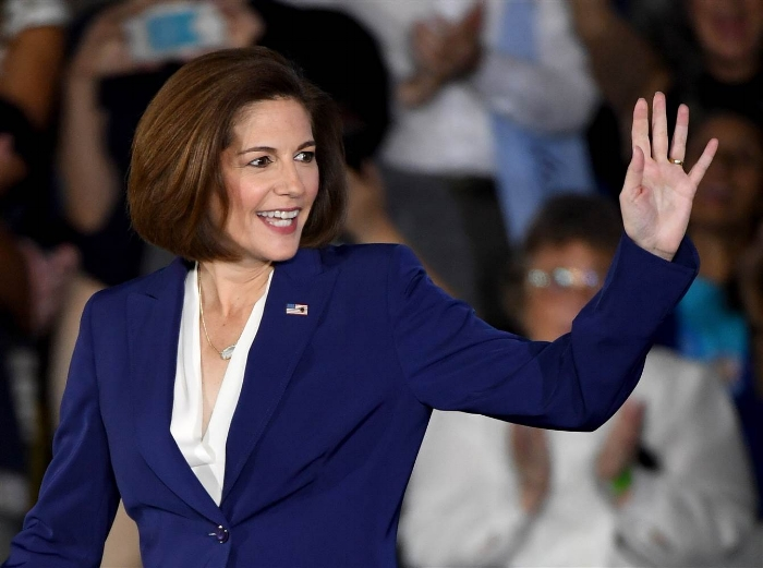 Catherine Cortez Masto; Photo:  Ethan Miller/Getty Images