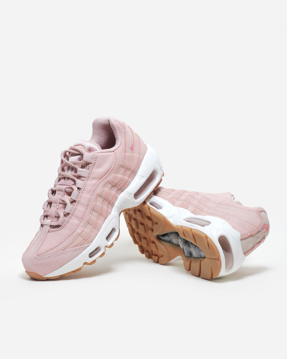 Nike Air max 95 junior pink, white and grey. In Depop