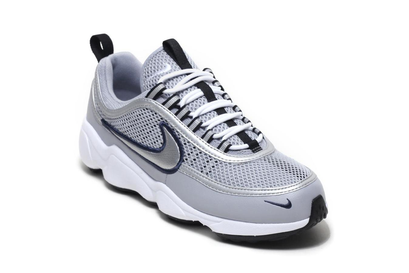 Nike Air Zoom Spiridon In 'Wolf Grey
