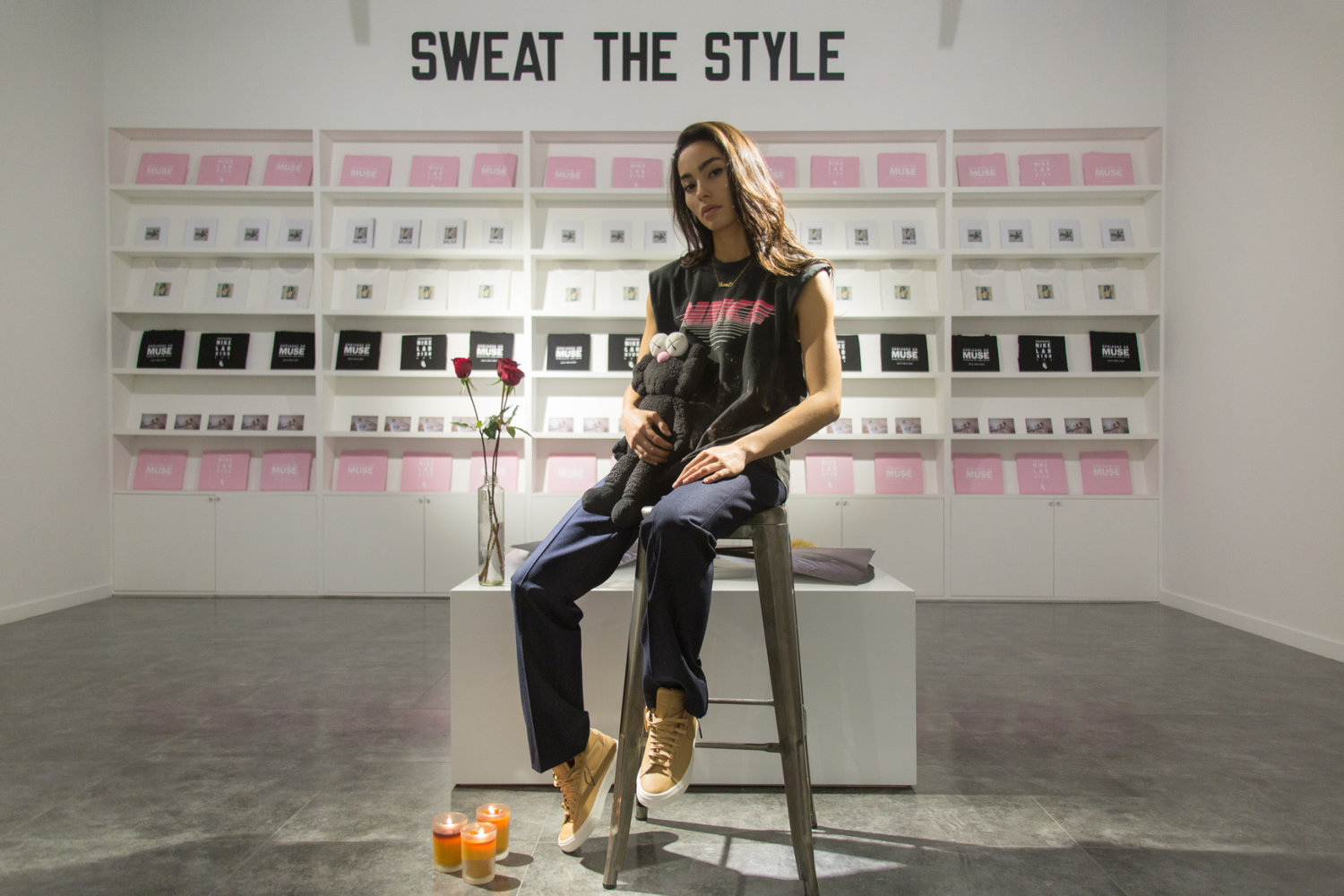 NikeLab Turns Adrianne Ho s Bedroom Into One Big Sneaker Exhibition ... fc18658d6