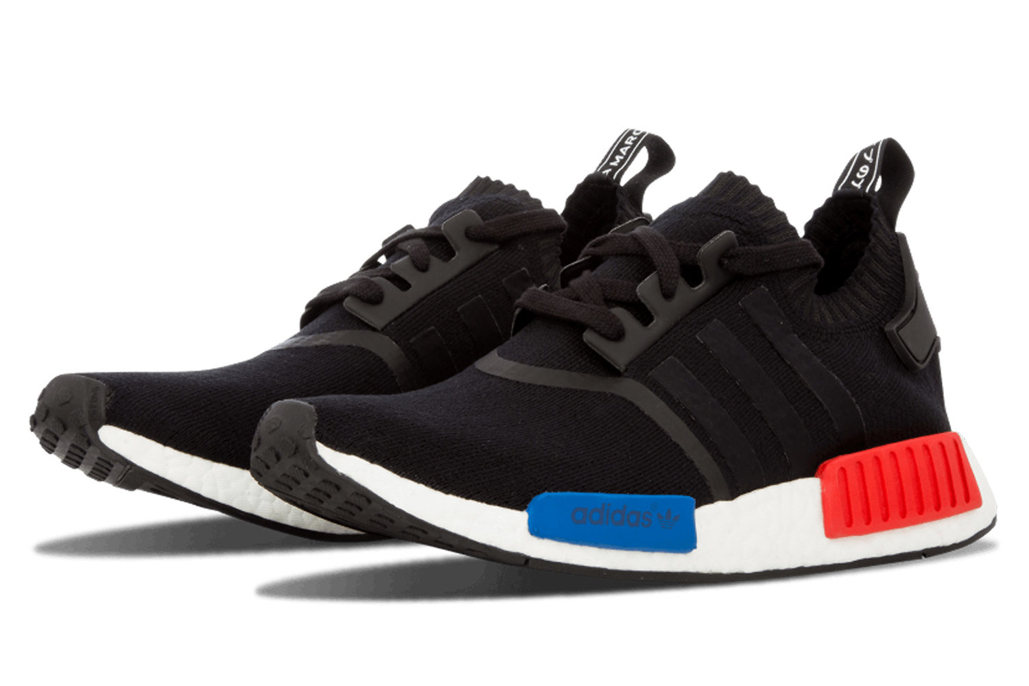 Nmd r1 pk 'NMD OG 2017' black / white / blue / red