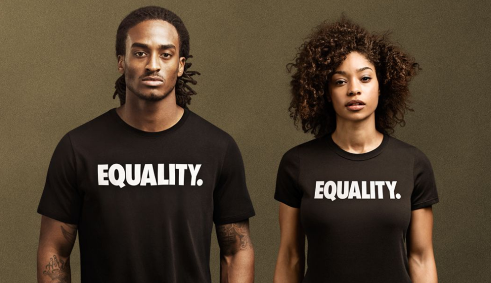 Shown: Nike 'EQUALITY' Tee - $35 USD Images: Nike Press