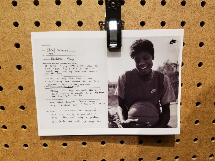 Sheryl Swoopes' initial Nike player questionnaire. Photo: CNKDaily