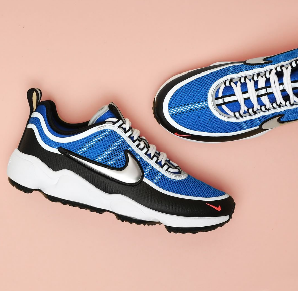new style c1233 33eef Spotted  Nike Air Zoom Spiridon Ultra