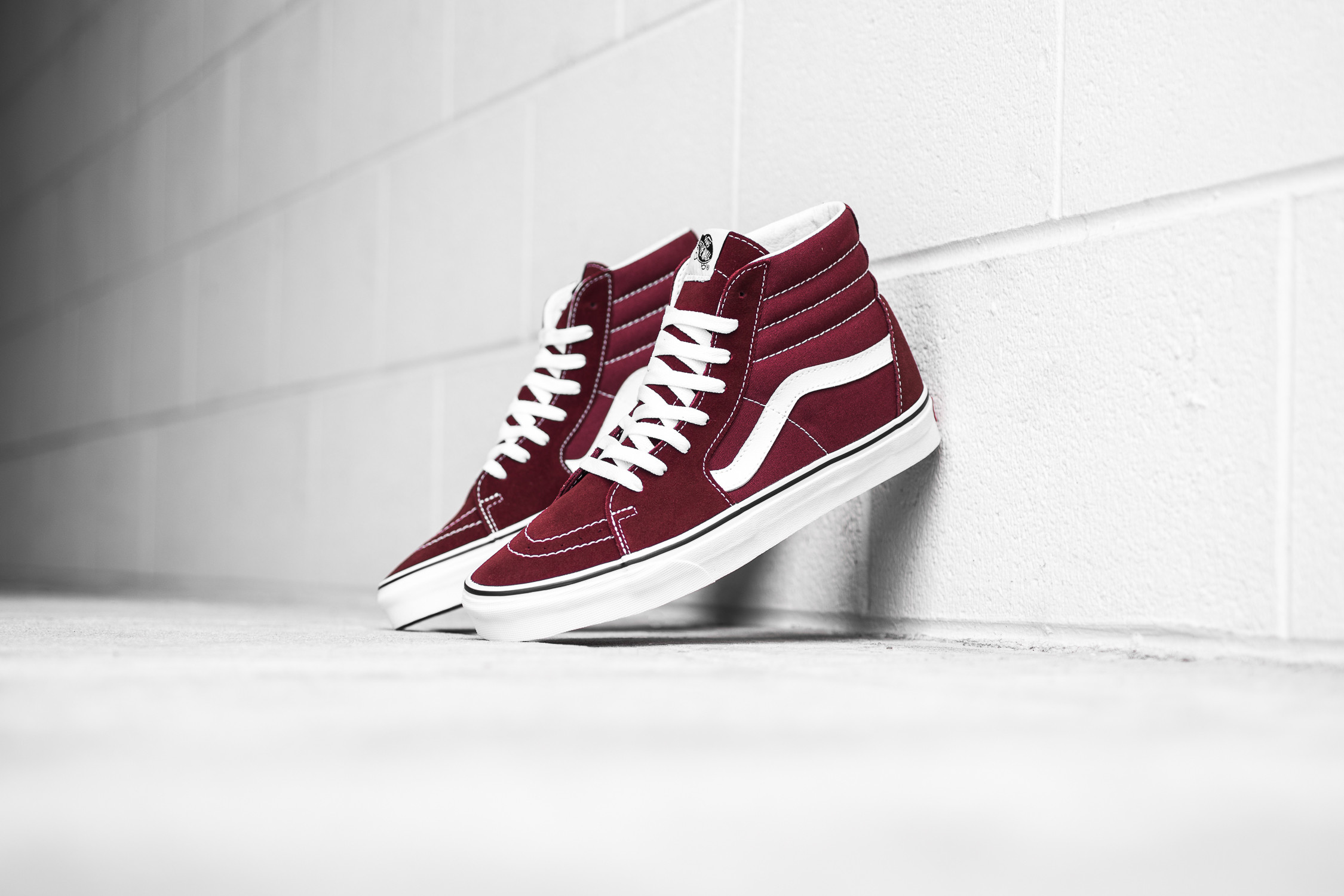 0c9bfeb1c15e Cop or Can  Vans SK8-Hi In Madder Brown — CNK DailyChicksNKicks