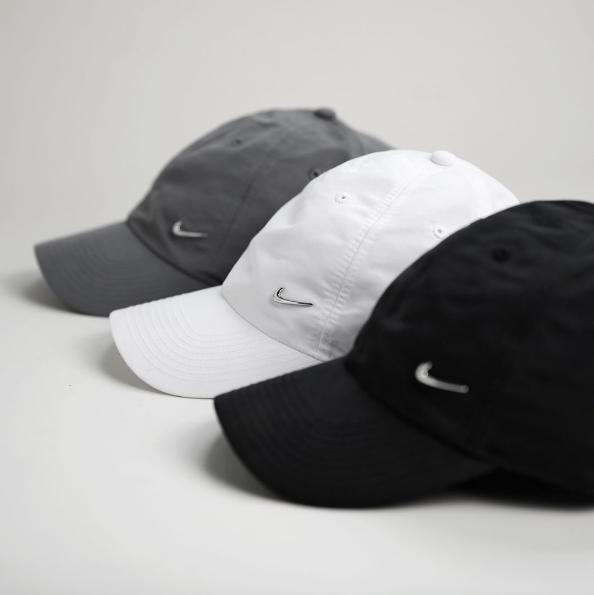 Nike Sportswear Metal Swoosh Logo Cap — CNK DailyChicksNKicks 81aa6b8c53