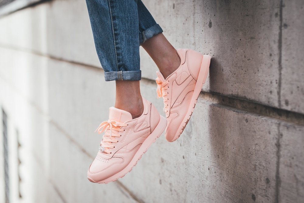 Shop The Sneaks  The Ladies Rock Reebok Classics in Style — CNK ... 7797fa866