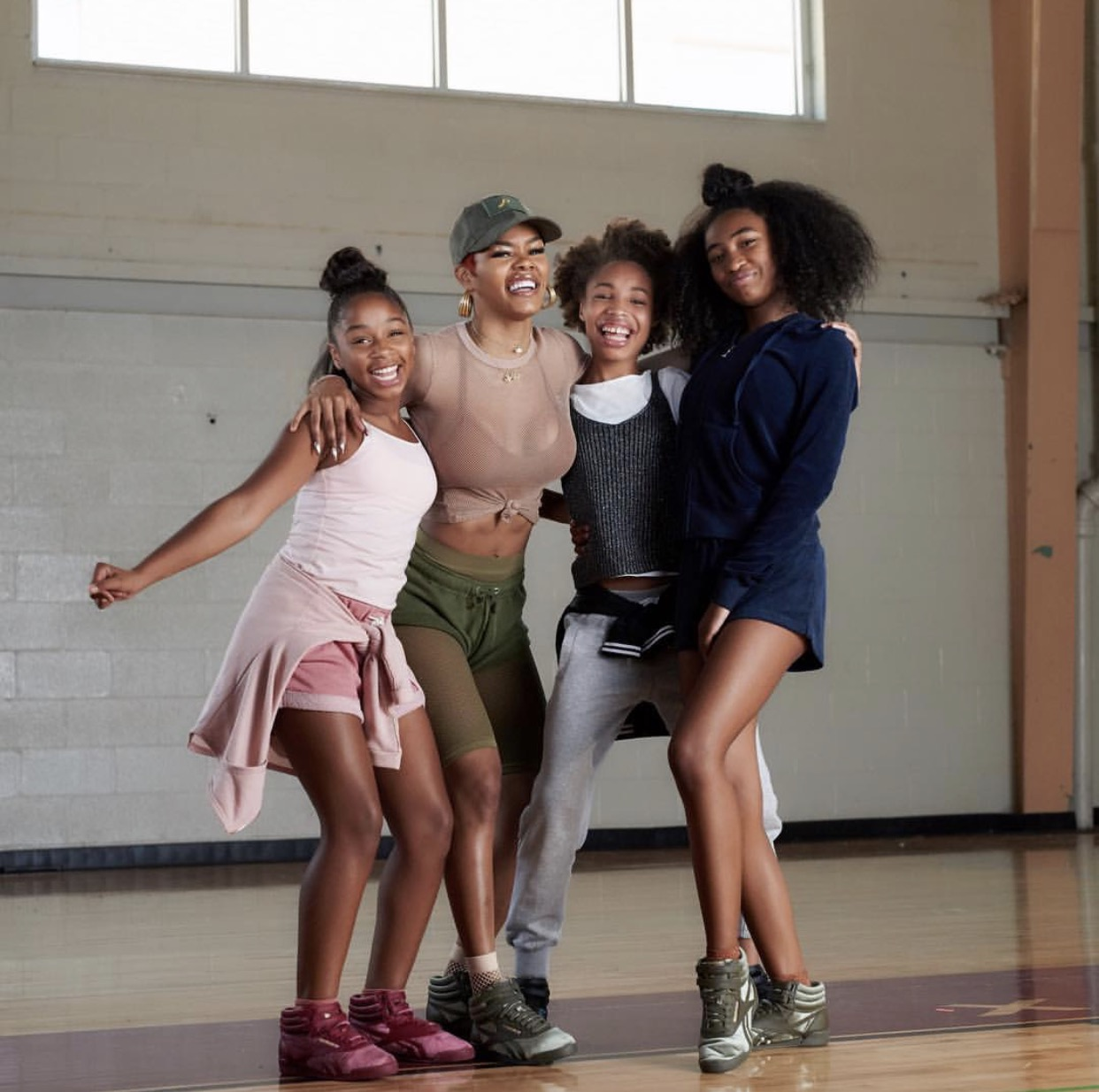 bf4fc00e899 Teyana Taylor Is Featured On The First Kids Footlocker Series