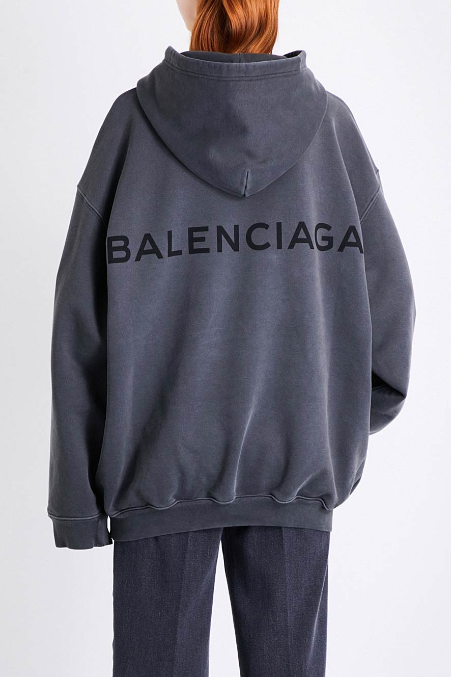 Printed hoodie Balenciaga Buy Cheap Recommend Free Shipping Fashionable Best Seller Sale Order R5iaumR