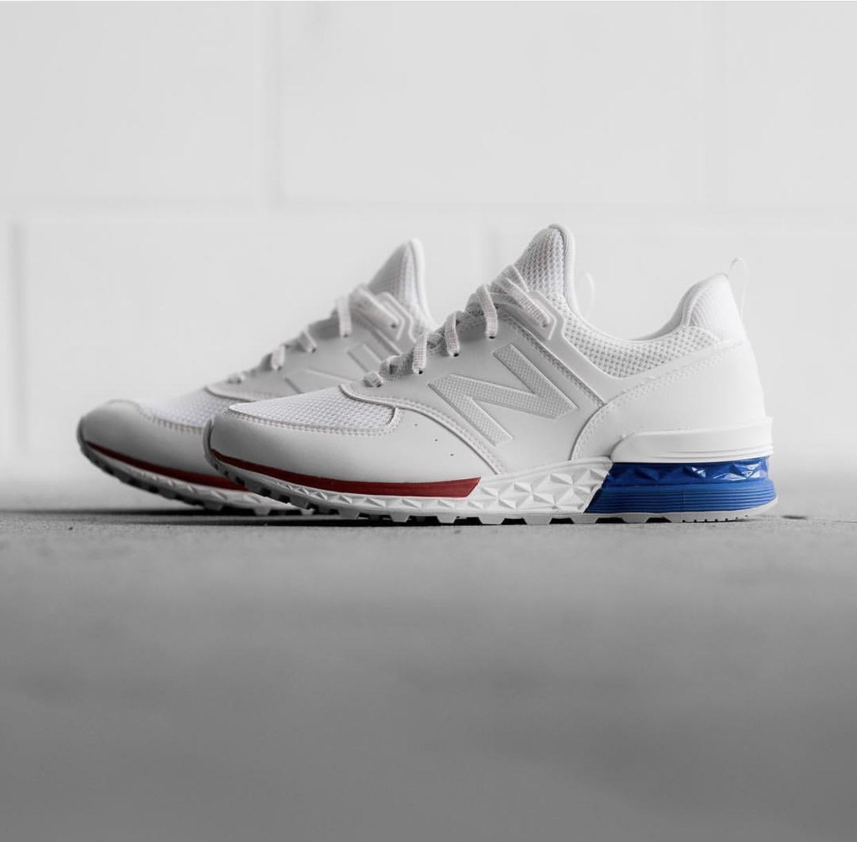 b50769ad31bde Check Out This Clean New Balance 574 Sport — CNK Daily (ChicksNKicks)
