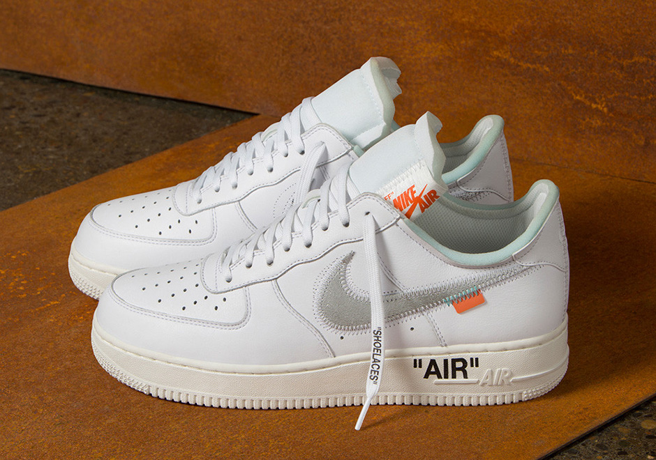 OFF WHITE X NIKE AIR FORCE 1 LOW    COMPLEX CON EXCLUSIVE RELEASE DATE: NOVEMBER 4TH, 2017