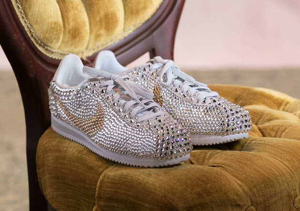 27174e8708b Meet The Woman Behind Serena Williams  Bedazzled Wedding Sneakers ...