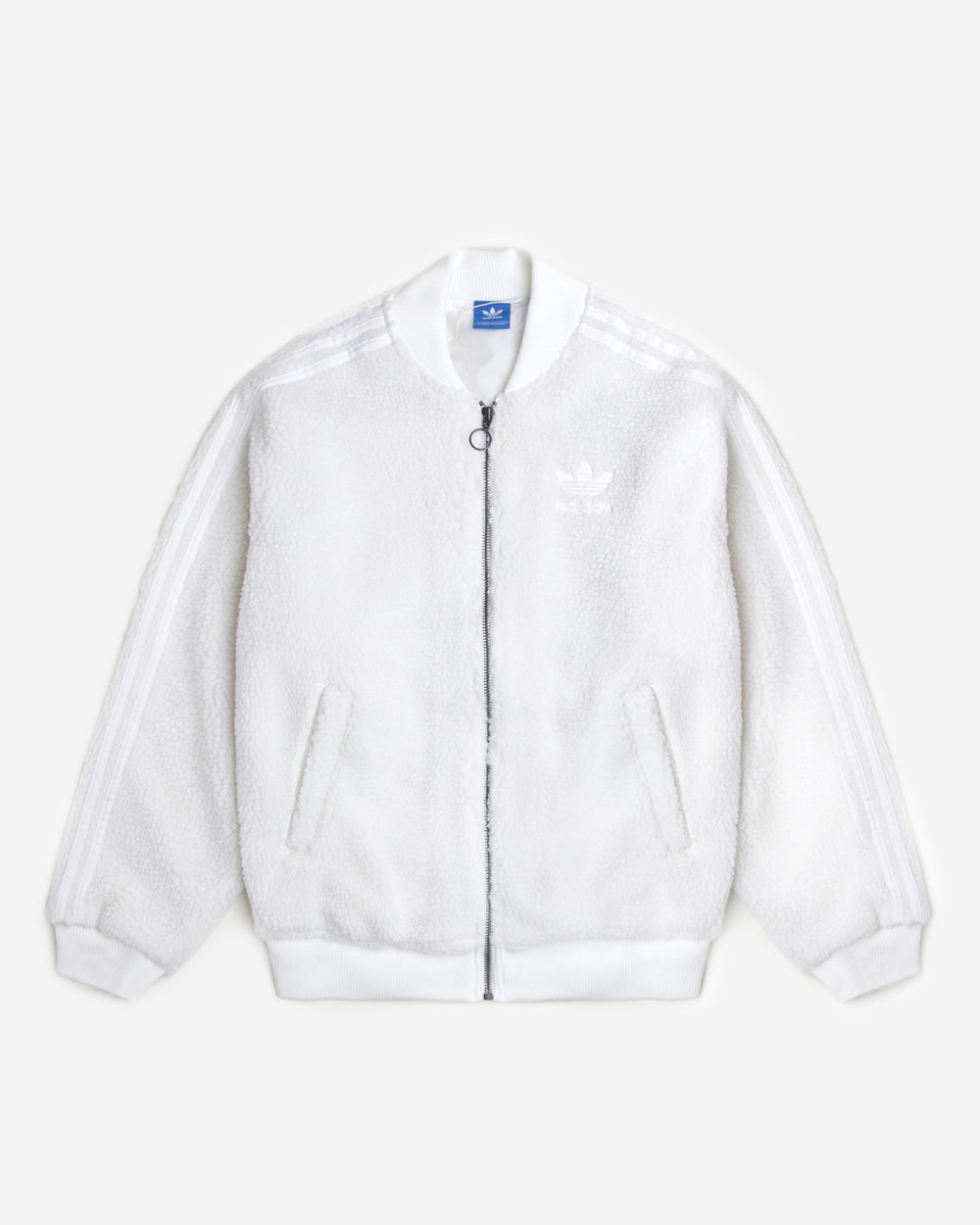 307490fe3 adidas Originals Goes Shearling With SST Track Jacket — CNK Daily ...