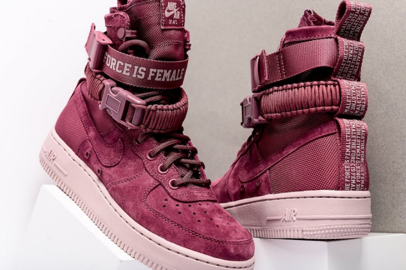 85eb34a307d The WMNS SF AF-1 Gets A Suede Treatment — CNK Daily (ChicksNKicks)