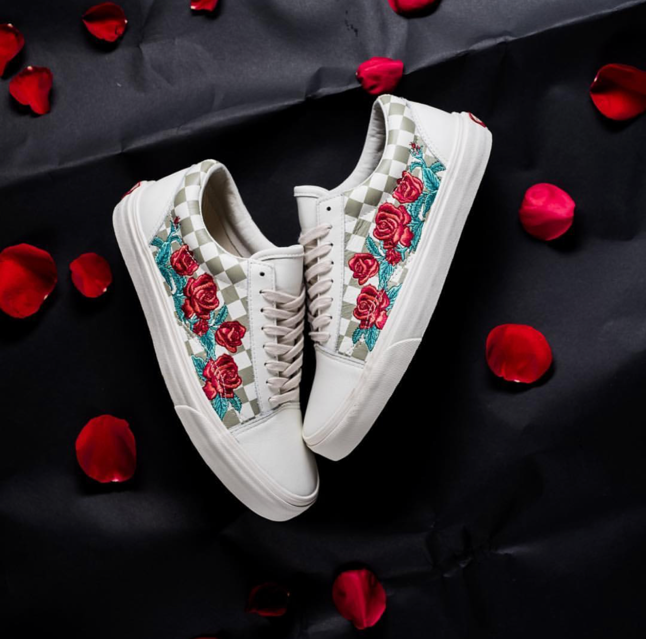 2bc292cd658b Check Out This Floral Vans Old Skool DX  Rose  — CNK DailyChicksNKicks