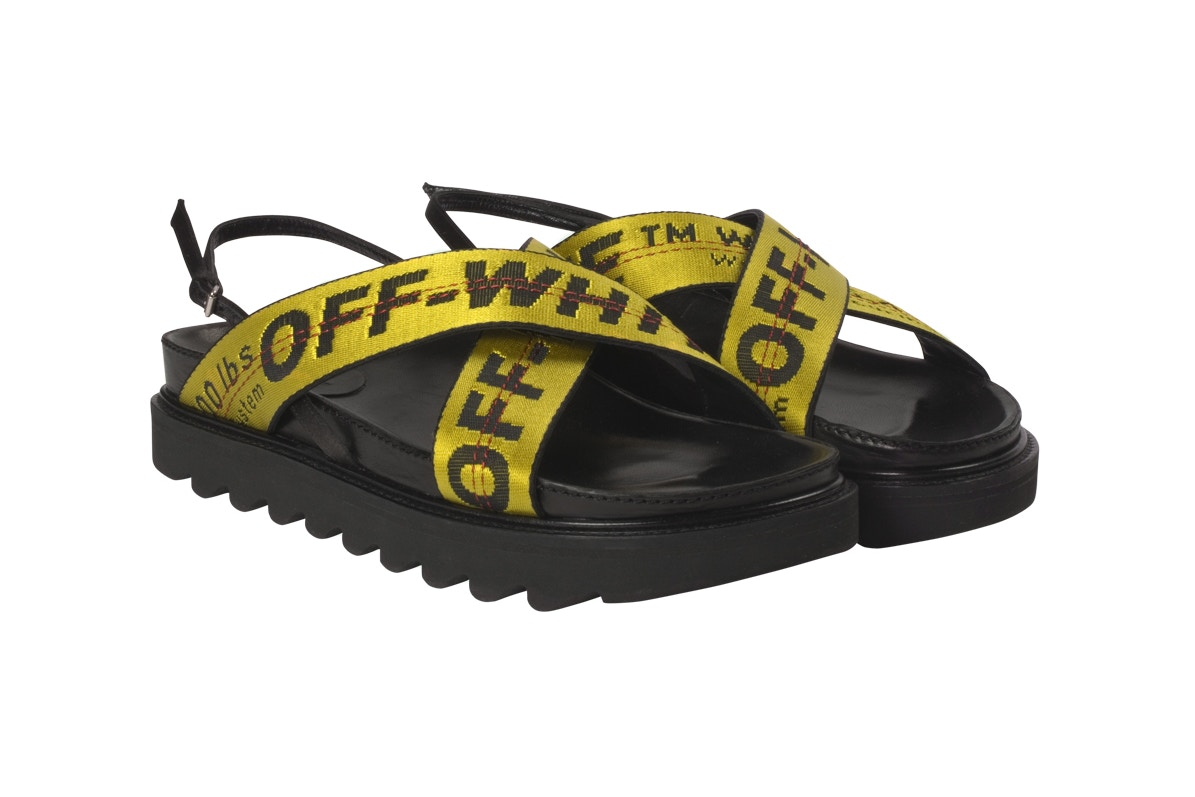 cop or can off white industrial strap sandals cnk dailychicksnkicks
