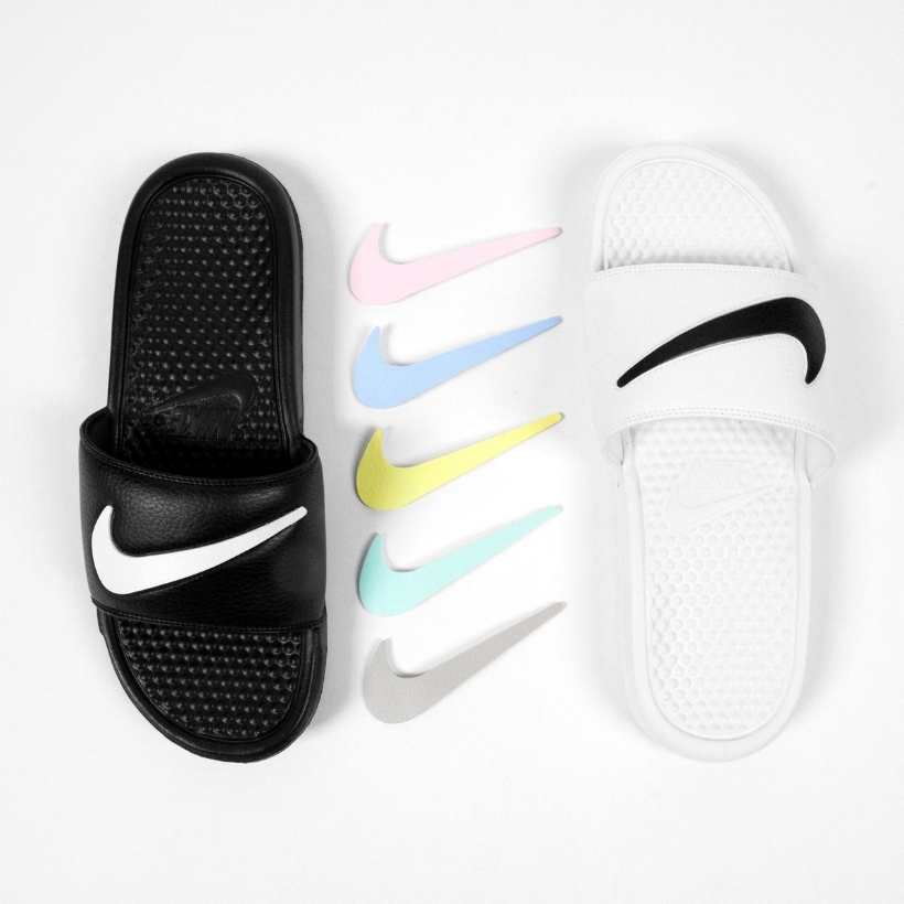 7cbdcd76adc5 This Nike Benassi JDI Slide Is All About Options — CNK DailyChicksNKicks