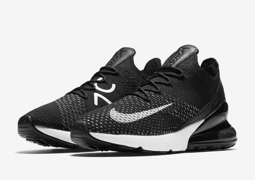best sneakers 6b6f7 f0878 ... wholesale cnk nike air max 270 flyknit black 1. 0c245 2cf33