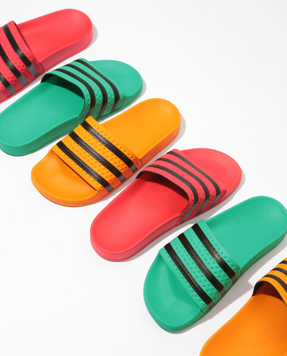 839d81e74 This Latest adidas Adilette Slide IS THE Summer Sandal 0f 2018 — CNK  DailyChicksNKicks