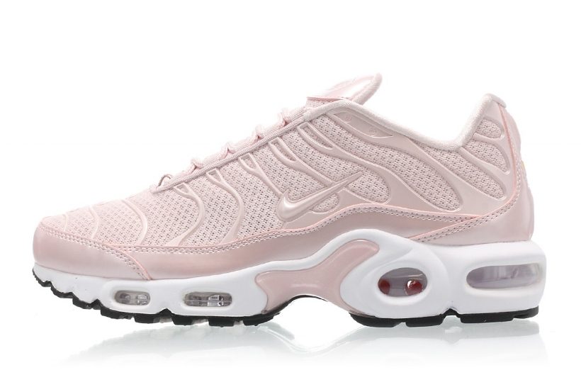 0163633682 The WMNS Nike Air Max Plus Premium Gets The 'Barely Rose' Treatment ...