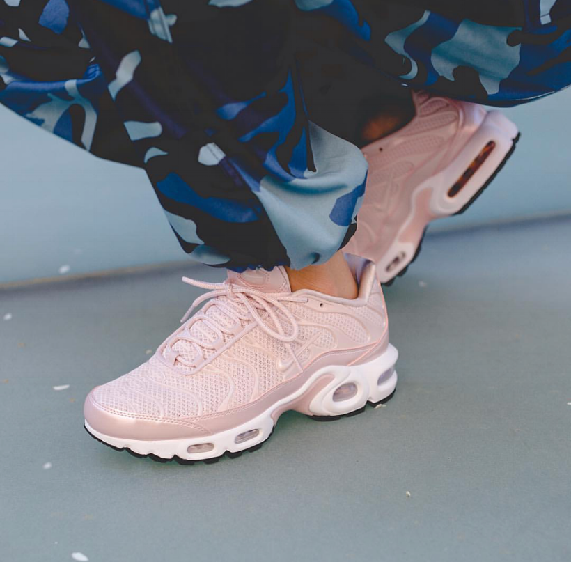 9906be0843906f The WMNS Nike Air Max Plus Premium Gets The  Barely Rose  Treatment