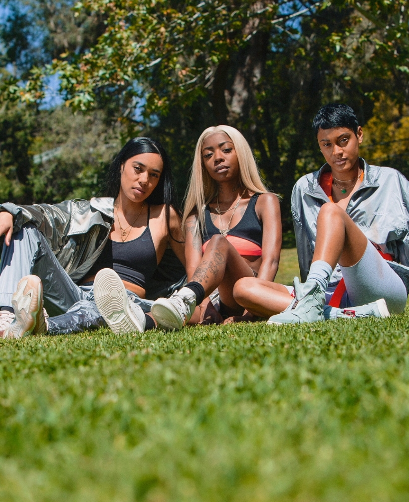 289c194b2b7 Aleali May Styles Her Girls In Jordan Brand SS18 — CNK DailyChicksNKicks