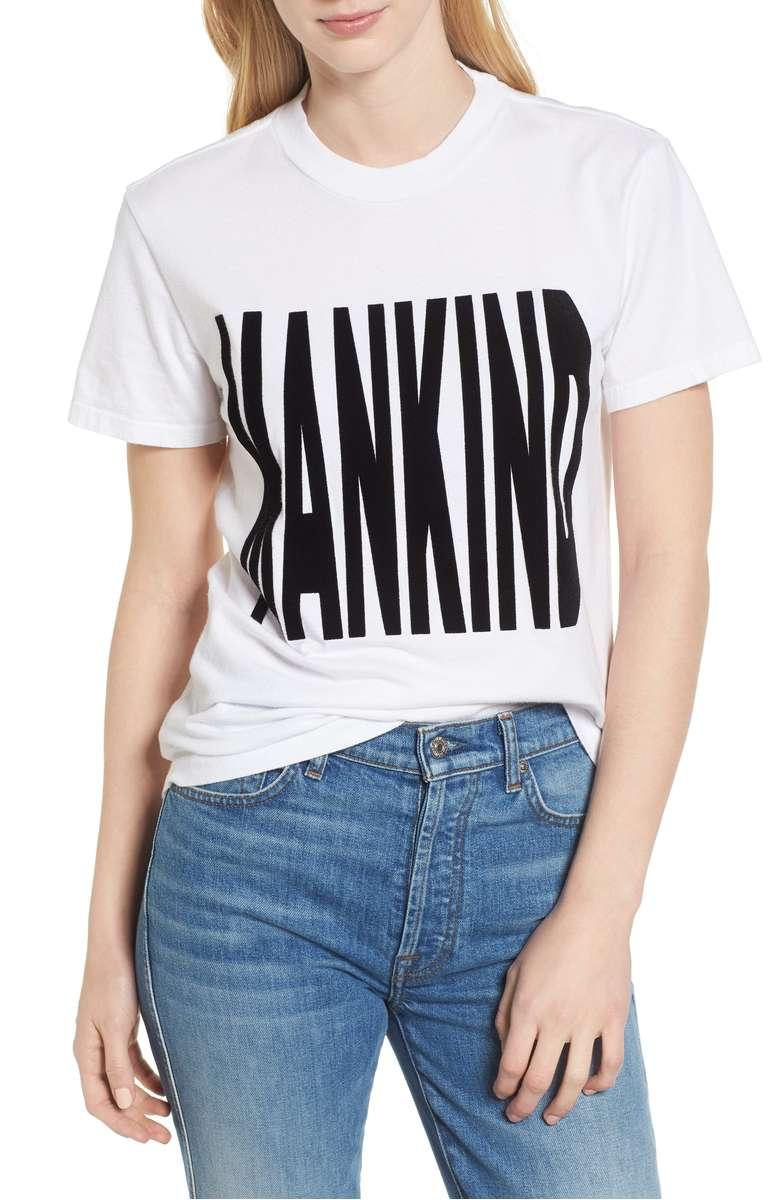 7 For All Mandkind - Mankind Flocked Tee   $52.50