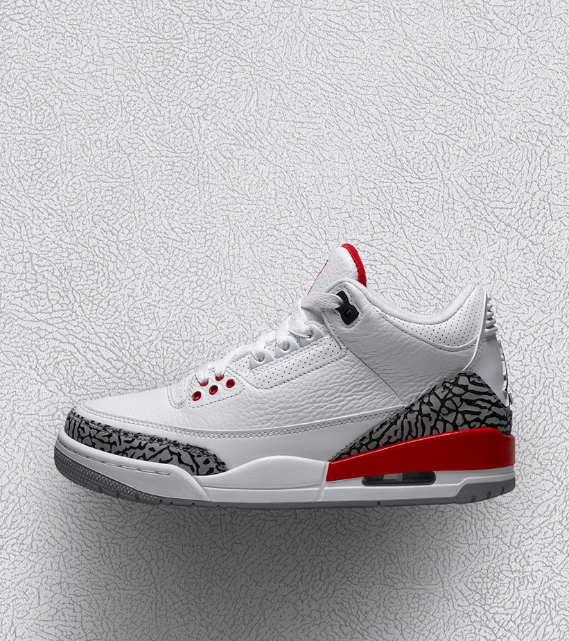 a5f709870aca Jordan Brand Gets Ready to Drop the Air Jordan Retro 3  Katrina