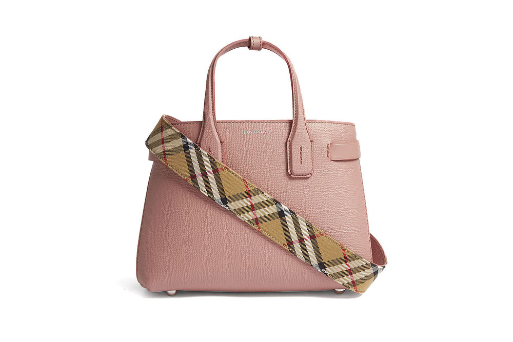 ee374681e058 Burberry Has Us Intrigued With Their New Small Banner Leather Tote ...