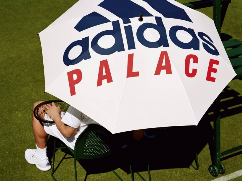 Image: adidas Originals x Palace / Alasdair McLellan