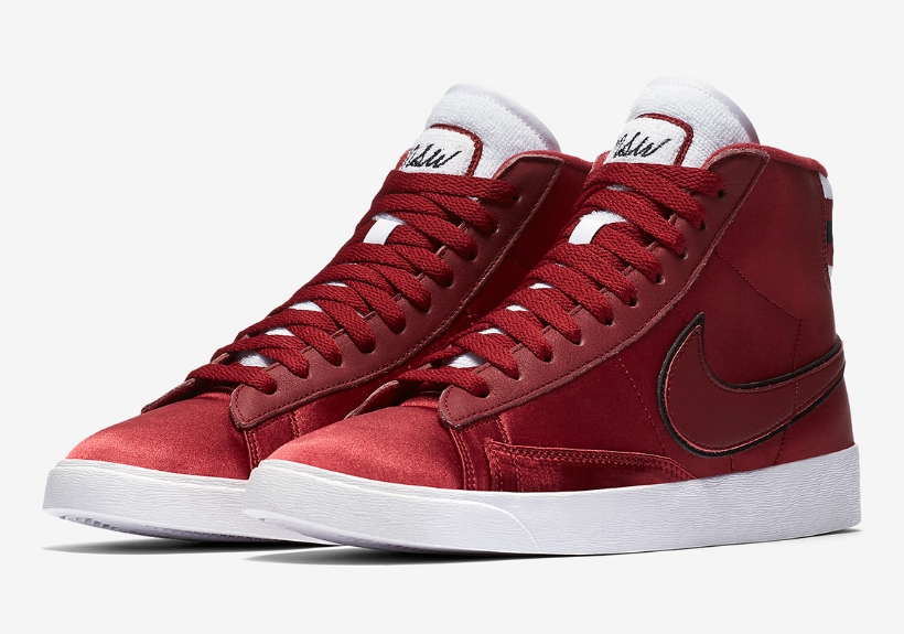 new styles 17a95 37ea0 We Are Crushing Hard On Nike s Satin Blazer Mid