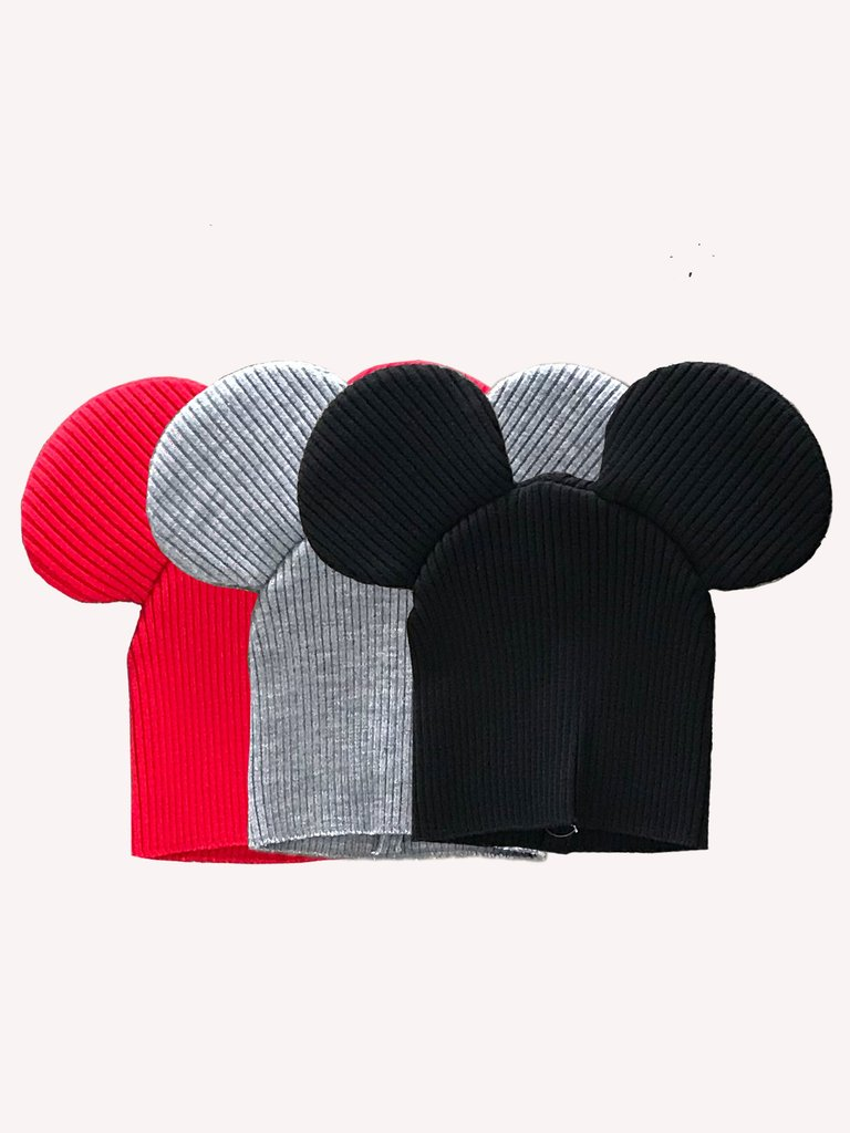 7011cbe9d3c These Comme Des Garçons Mouse Ears Beanies Are Adorable — CNK ...