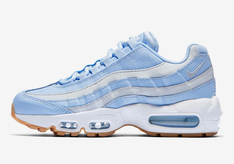 "70392374aa Nike's Air Max 95 Arrives in ""Royal Tint"" — CNK Daily (ChicksNKicks)"