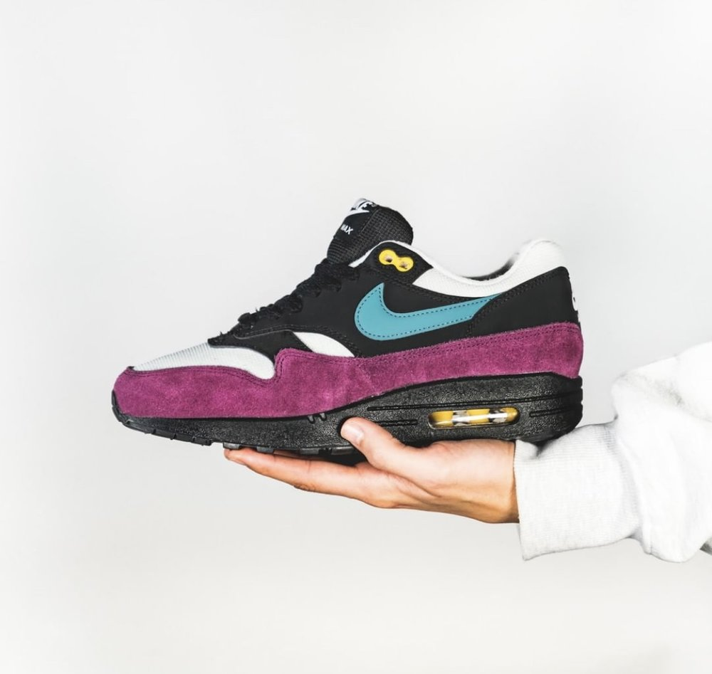 cheaper ab50d 1f601 This Nike Air Max 1 Has a Pop of Color We Love