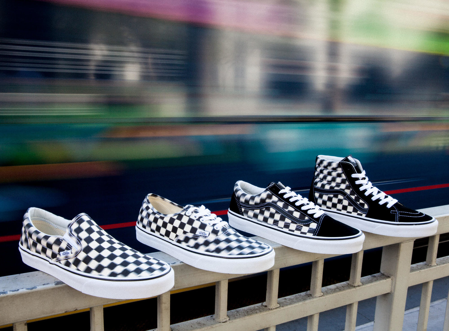 54f8deefda The Lines Get Blurred With Vans New Blur Check Pack — CNK ...