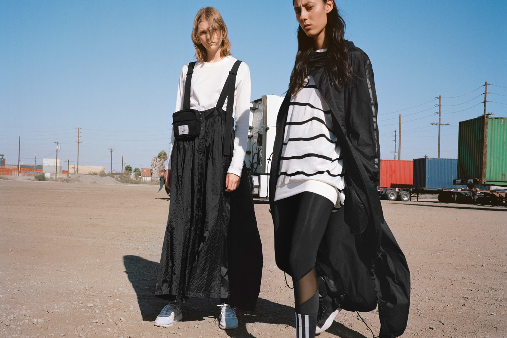 617316b12 Seeing Things In Black and White With Y-3 s SS 2019 Campaign