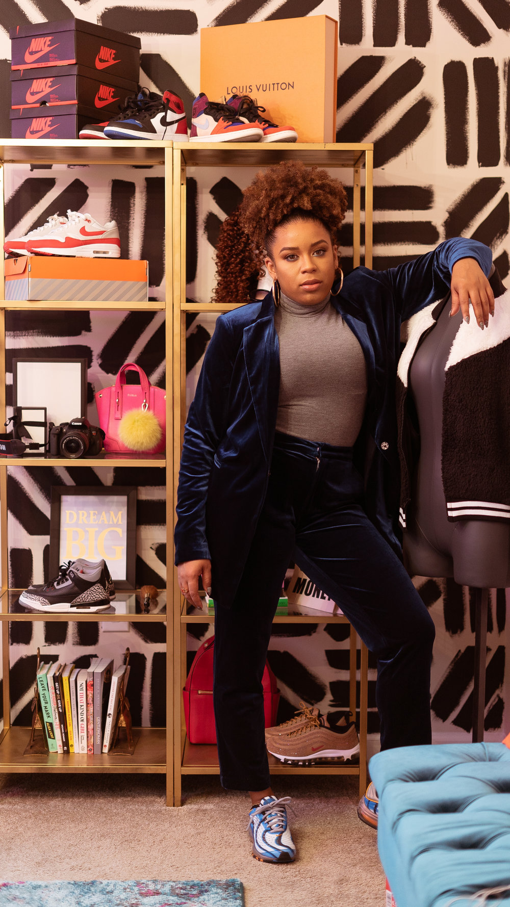 If Yonce Had a Sneaker Closet... - CNK Closets heads to Charlotte to vibe with Melissa Chanel and how she keeps her closet of kicks so chic.