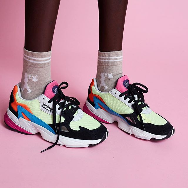 buy popular 227b0 f5a37 Adidas  Falcon Sneaker Is Catching Eyes in  Hi-Res Yellow