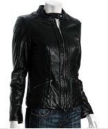 A classic motorcycle jacket by MICHAEL Michael Kors at Bluefly.com, $267