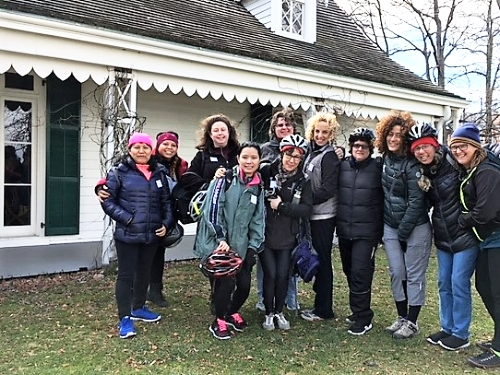 Get Women Cycling Group Ride