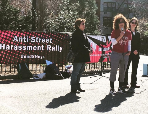 Anti Street Harassment Rally