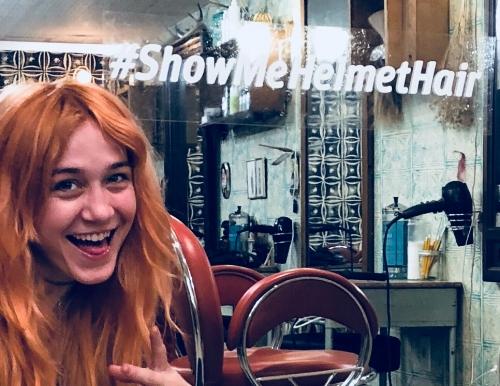 #ShowMeHelmetHair Image