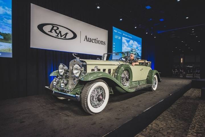 Darin Schnabel © 2018 Courtesy of RM Sotheby's.