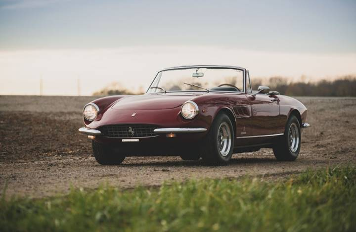 1967 Ferrari 330 GTS set for RM Sotheby's 2019 Arizona auction (Darin Schnabel © 2018 Courtesy of RM Sotheby's)