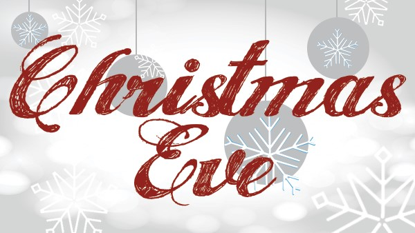 CHRISTMAS EVE SERVICES - Thursday, December 24 I 4:30 PM and 6:00 PM Celebrate the coming of Jesus into the world at one of our Christmas Eve Services. This is a wonderful Crossbridge tradition for the whole family. Childcare will be available by registration only and space for that is limited. Registration will begin soon!