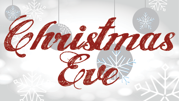 CHRISTMAS EVE SERVICES - Thursday, December 24 I 5:00 PM and 7:00 PM   Celebrate the coming of Jesus into the world at one of our Christmas Eve Services. This is a wonderful Crossbridge tradition for the whole family. Childcare for children 2 years and younger is available with a reservation ONLY! Space is limited so reserve your spot by registering  HERE !