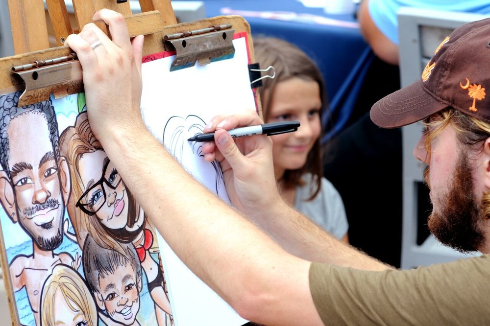 SkyWheel Eclipse Party. Caricature. Myrtle Beach.jpeg