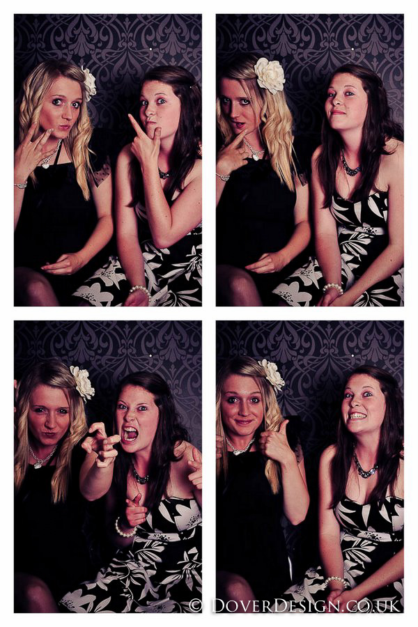 kent photographers - vintage photobooth