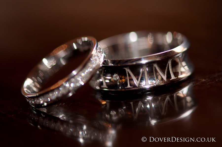 Wedding rings - Howfield Manor Wedding Photography