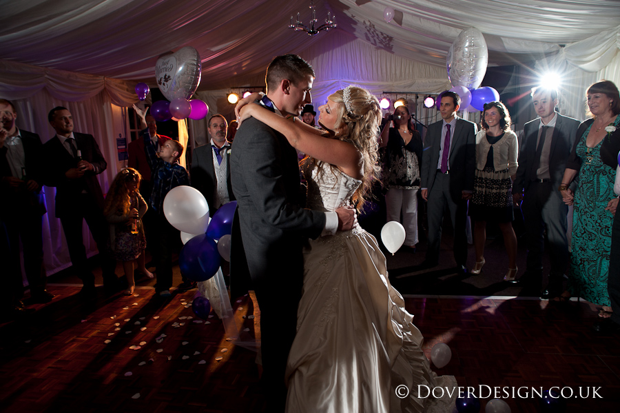 First Dance - Howfield Manor Wedding Photography